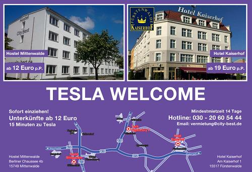 Tesla Welcome